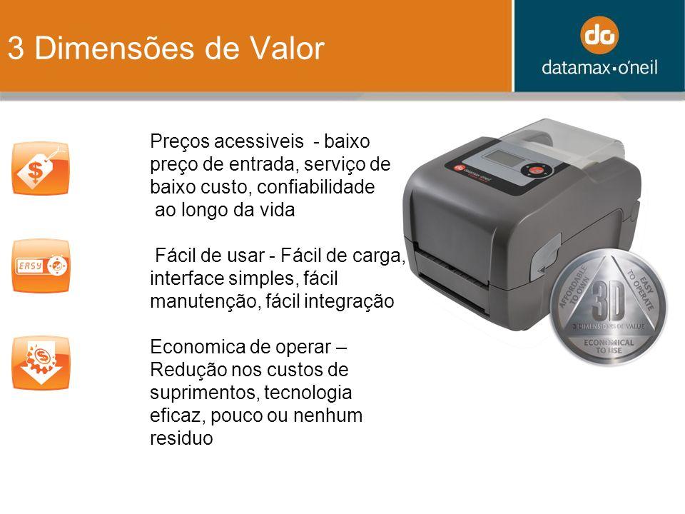 Product Specifications (S) tandard, (O) ptional, (A) ccessory CategoriasDescripcionBasicAdvancedProPro+ ModelosModels Number Designators E-4204B (203dpi) E-4304B (300dpi) E-4205A (203dpi) E-4305A (300dpi) E-4206P (203dpi) E-4305P (300dpi) E-4206L (203dpi) E-4305L (300dpi) Tecnologia de Impressão Thermal, Thin Film Glass PHSSSS DT, 203dpiSSSS 300 dpiOOOO Print Speed (ips)4566 Print Width4.25 [108mm] @ 203 dpi 4.16 [106mm]@ 300 dpi Print Lengths0.375 to 99 (9.5mm to 2514mm)