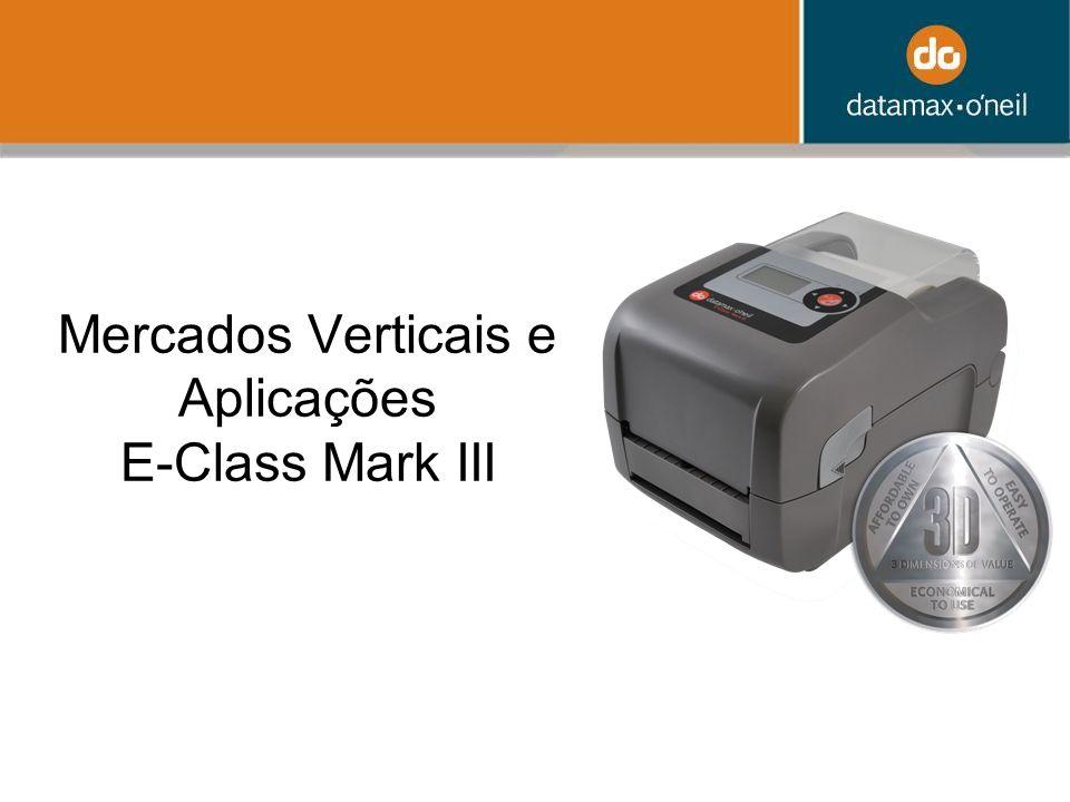 Mercados Verticais e Aplicações E-Class Mark III