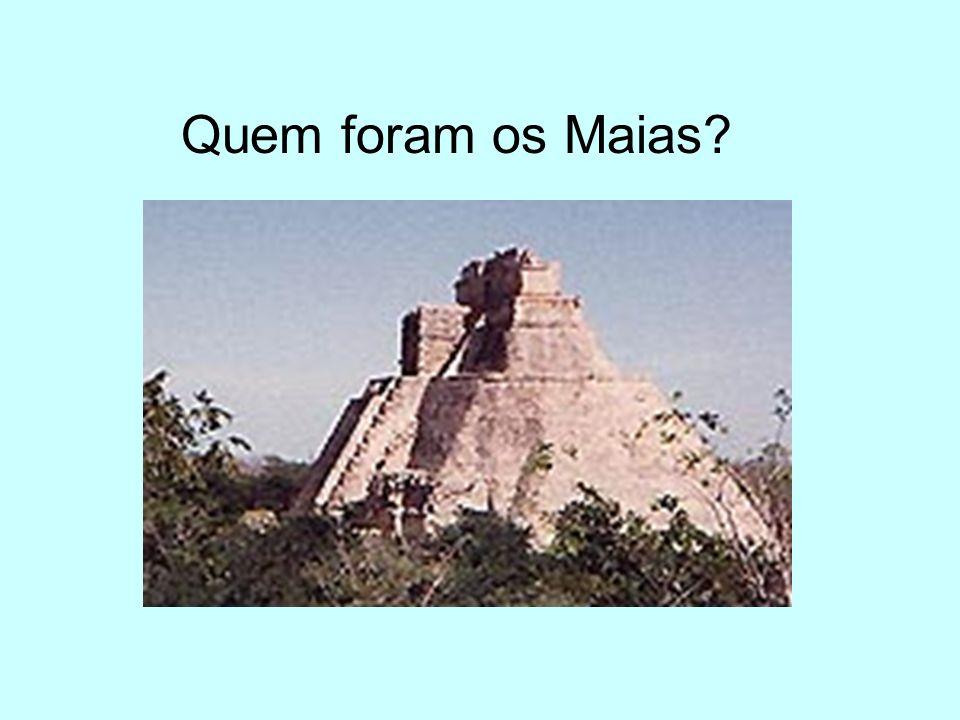 Quem foram os Maias?