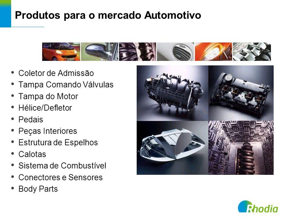 Produtos para o mercado Automotivo Coletor de Admissão Tampa Comando Válvulas Tampa do Motor Hélice/Defletor Pedais Peças Interiores Estrutura de Espe
