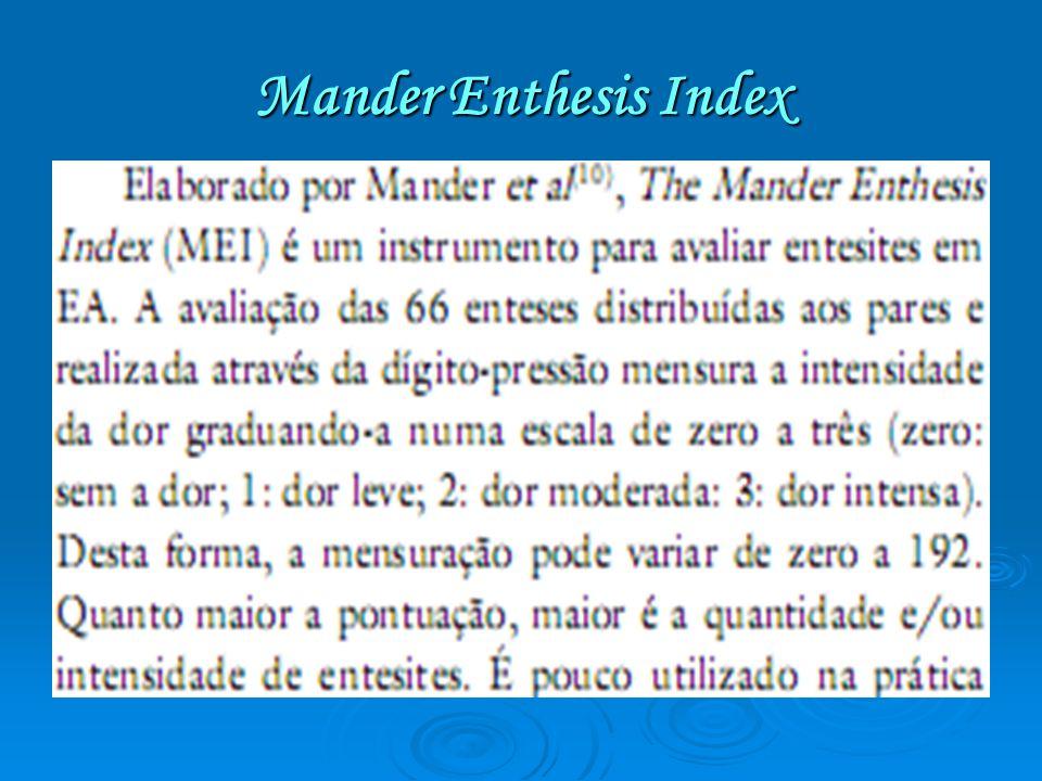Mander Enthesis Index