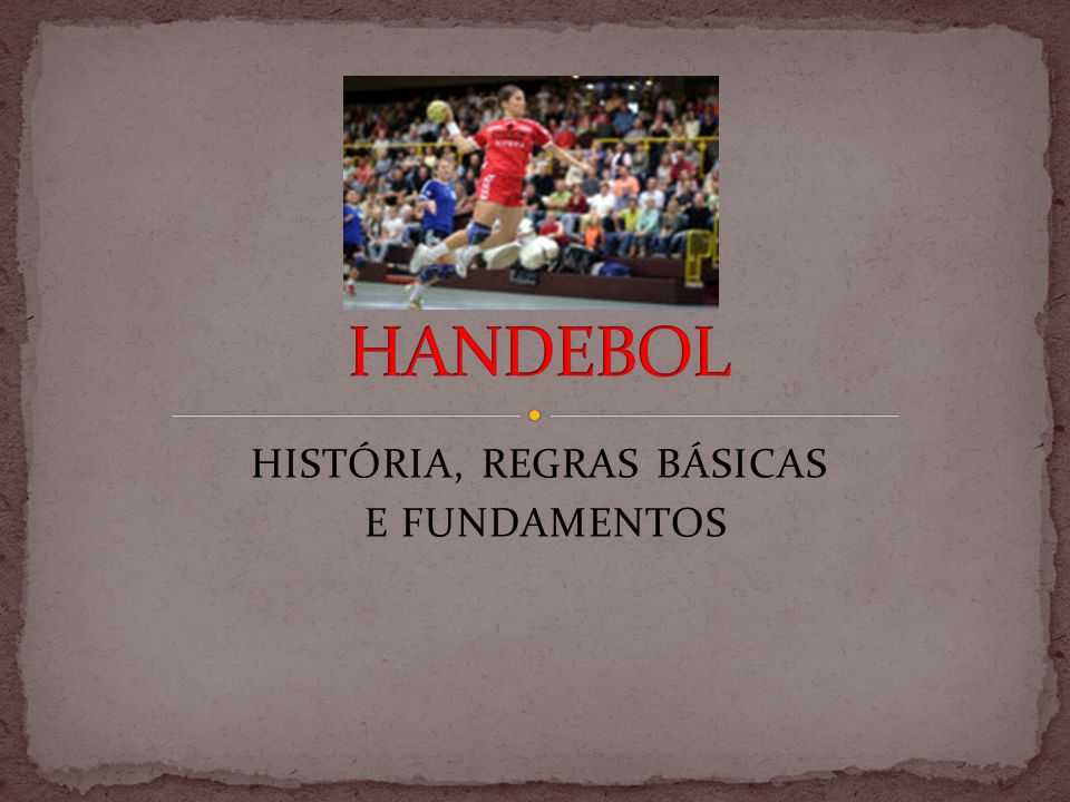 O Andebol (português europeu) ou Handebol (português brasileiro), do alemão handball, é uma modalidade desportiva criada pelo alemão Karl Schelenz, em 1919 embora se baseasse em outros desportos praticados desde fins do século XIX, na Europa setentrional e no Uruguai.