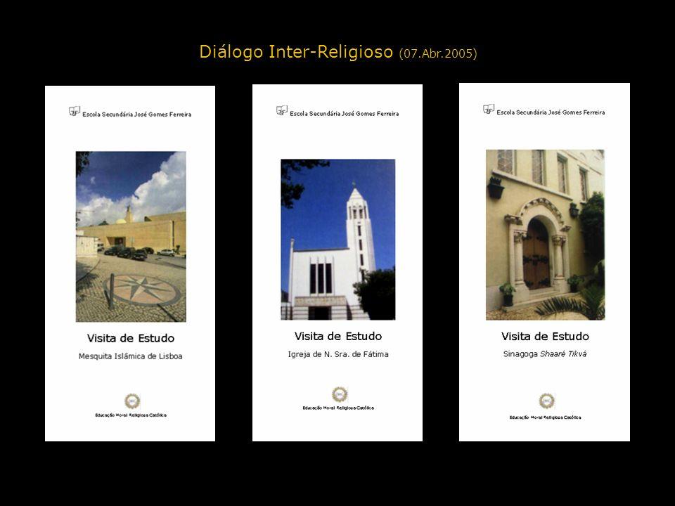 Diálogo Inter-Religioso (07.Abr.2005)