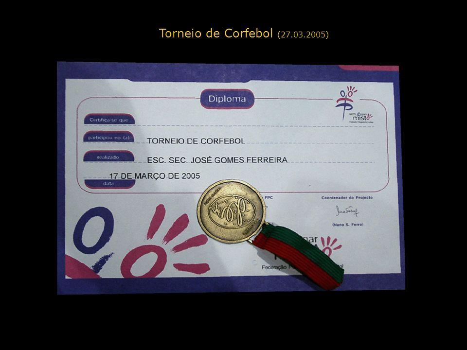 Torneio de Corfebol (27.03.2005)