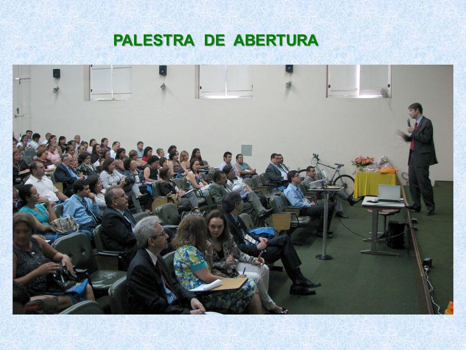 PALESTRA DE ABERTURA
