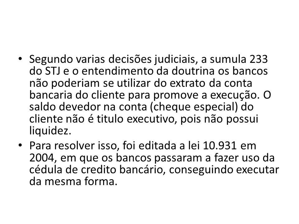 Segundo varias decisões judiciais, a sumula 233 do STJ e o entendimento da doutrina os bancos não poderiam se utilizar do extrato da conta bancaria do