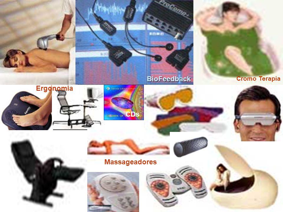 Cromo Terapia Ergonomia BioFeedback Massageadores CDs