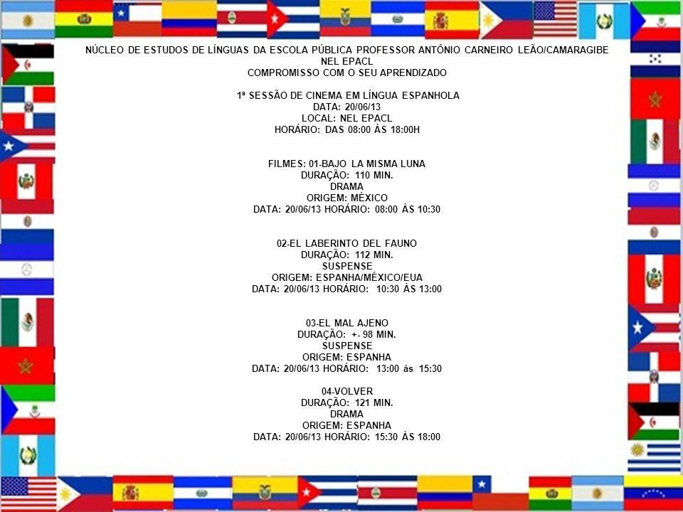 NEL – EPACL COMPROMISO CON TU APRENDIZAJE EQUIPE DE ESPAÑOL MOISÉS DE ARAÚJO Y SIMONE ALVES NÚCLEO DE ESTUDOS DE LÍNGUAS DA ESCOLA PÚBLICA PROFESSOR A