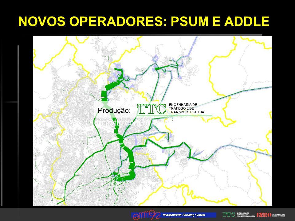 ENGENHARIA DE TRÁFEGO E DE TRANSPORTES LTDA. ttc@ttc.com.br / www.ttc.com.br Produção: