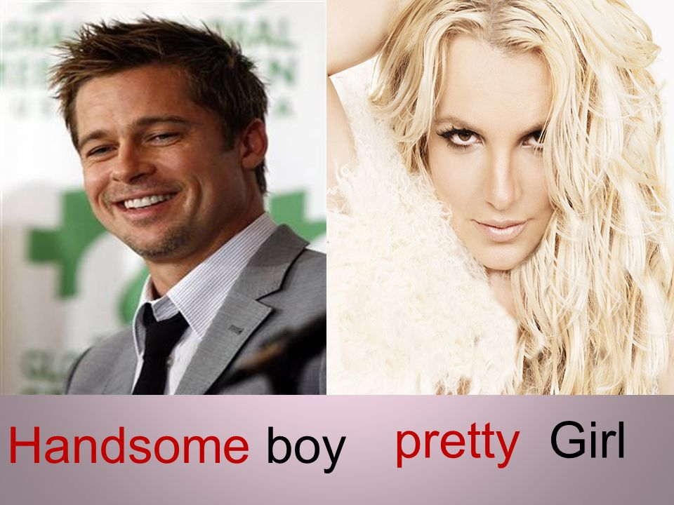 pretty Girl Handsome boy