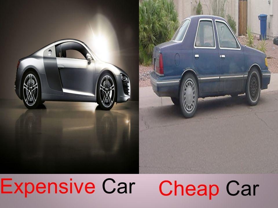 Expensive Car Cheap Car