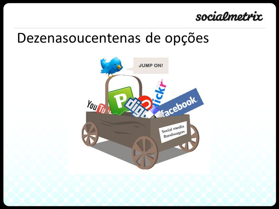 Obrigado Gustavo Arjones CTO garjones@socialmetrix.com   @arjones