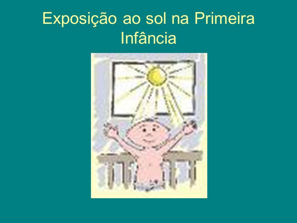 Exposição ao sol na Primeira Infância