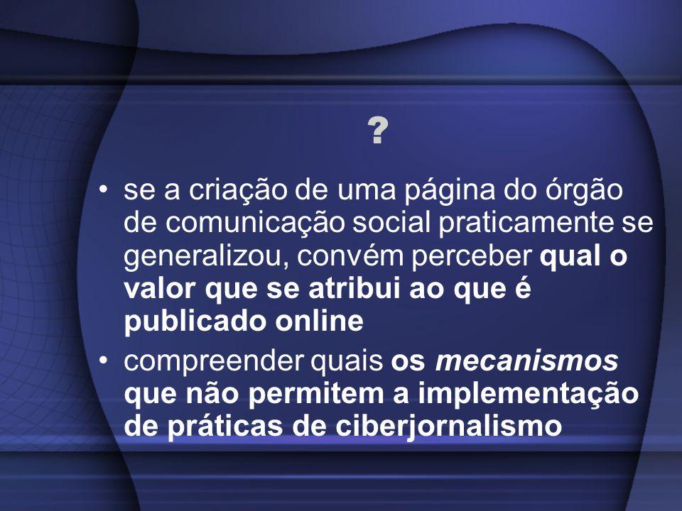I Congresso Internacional de Ciberjornalismo Andreia Fernandes Silva asilva@isvouga.com emlinha@gmail.com Porto 11 de Dezembro de 2008