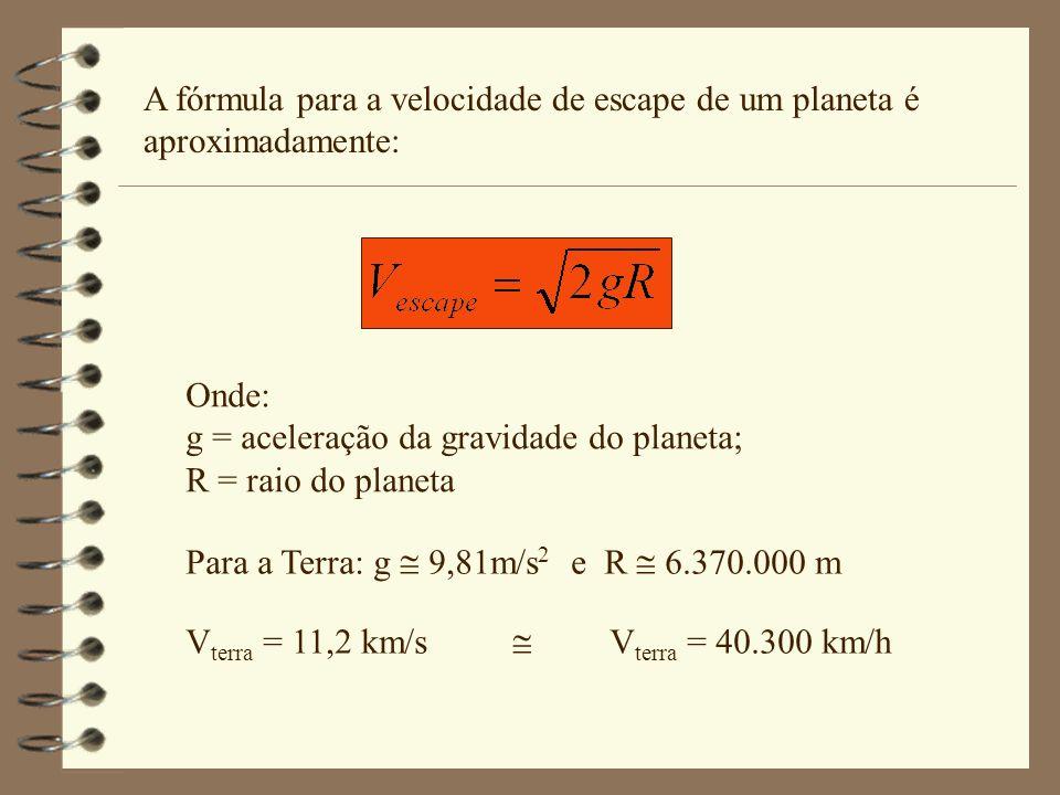 Como vimos é possível transformarmos energia cinética (velocidade) em energia potencial (altura). Simplificadamente podemos fazer os seguintes cálculo