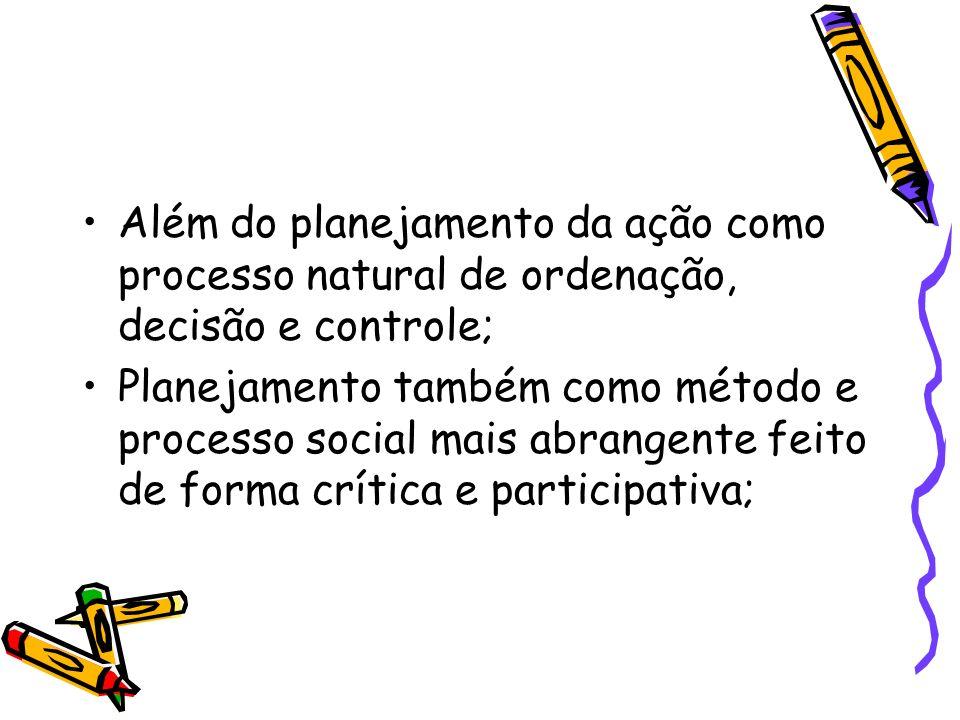 Revisão profissional que também propiciam uma (re)definição de instrumentos e técnicas de trabalho; Nasce então o planejamento como disciplina do serviço social;(1968)