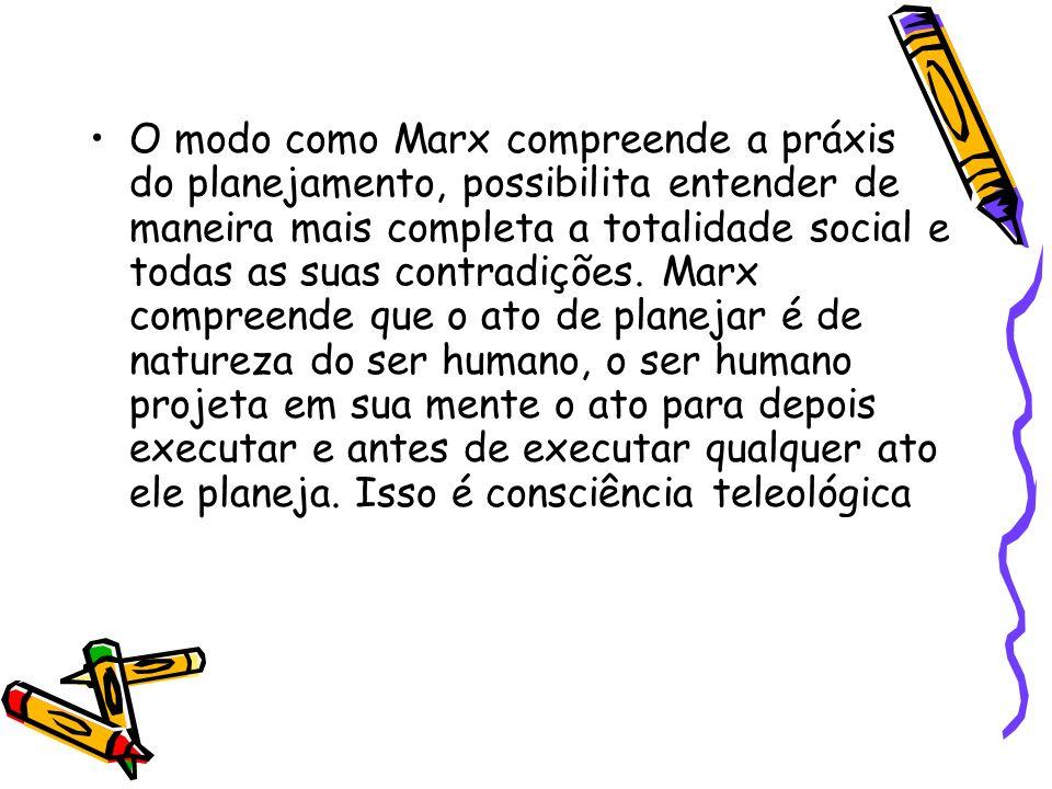 Processo de reflexão que instrumenta transformações na realidade social (BARBOSA, 1980)