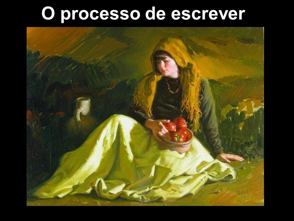 O processo de escrever