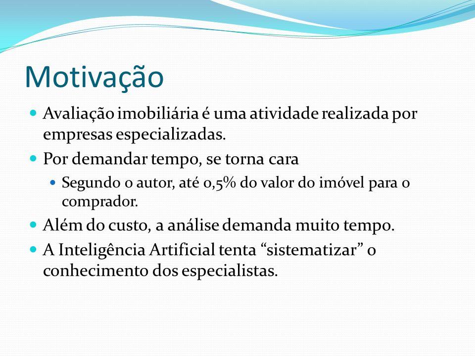 Raciocínio Baseado em Casos - RBC A idéia básica é resolver um problema com base em situações existentes.
