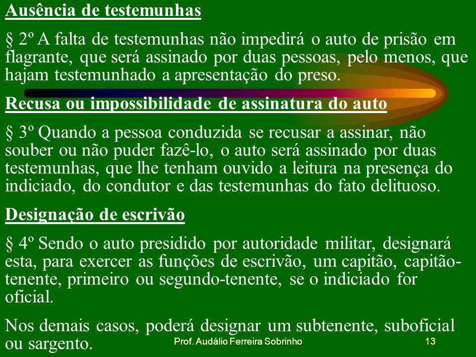 Prof. Audálio Ferreira Sobrinho12 Constituição da República Federativa do Brasil. ART.5º - Todos são iguais perante a lei, sem distinção de qualquer n