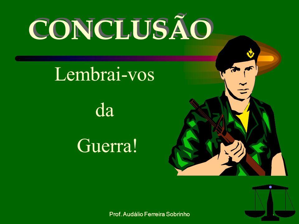 Prof. Audálio Ferreira Sobrinho22 h. CASO ESQUEMÁTICO. O 2º Ten Tício José da Silva, quando de serviço no 15º BPE, em 13 de abril de 2001, realizava u
