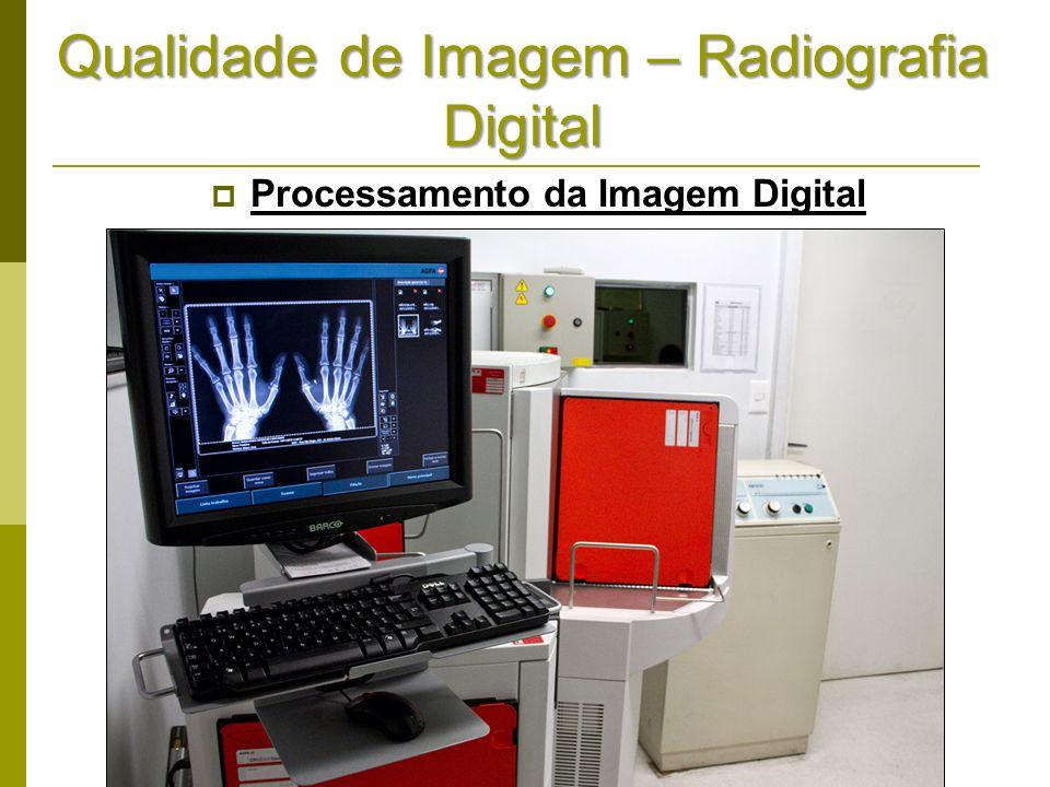 Qualidade de Imagem – Radiografia Digital Processamento da Imagem Digital