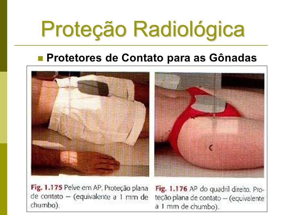 Proteção Radiológica Protetores de Contato para as Gônadas