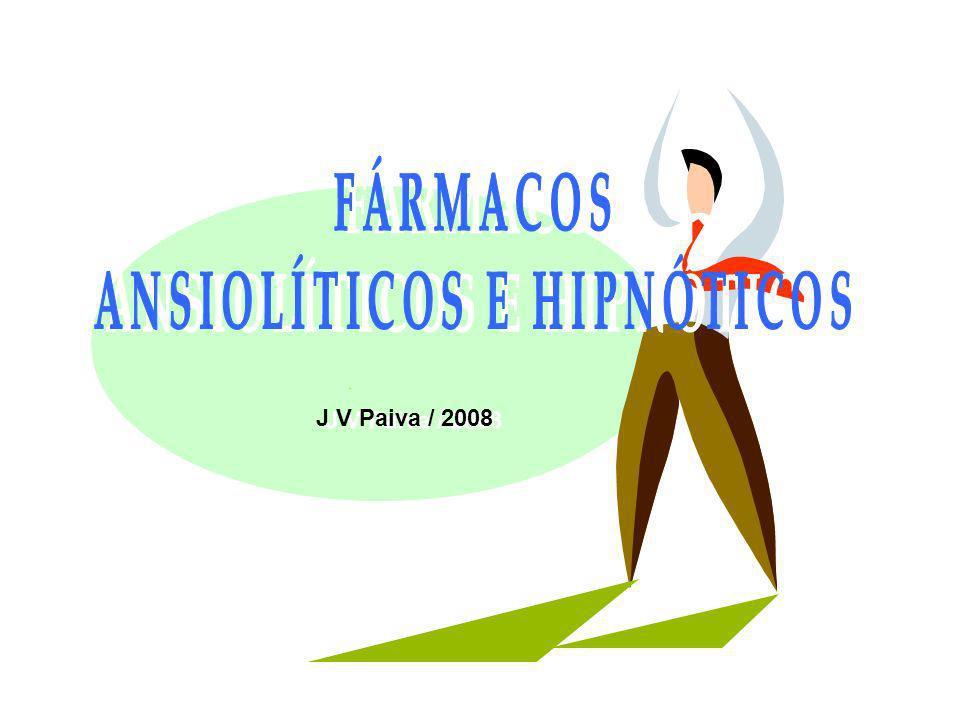 ANSIOLÍTICOS E HIPNÓTICOS I – Introdução a) Noções sobre Ansiedade – enfoque com interesse farmacológico b) Modelos experimentais de ansiedade com animais II- Os Fármacos Ansiolíticos Farmacologia das principais drogas a) Benzodiazepínicos b) Buspirona III- Antagonistas dos Benzodiazepínicos IMPORTANTE J V Paiva Rang/Dale/Ritter/Moore Farmacologia – 5ª Ed.