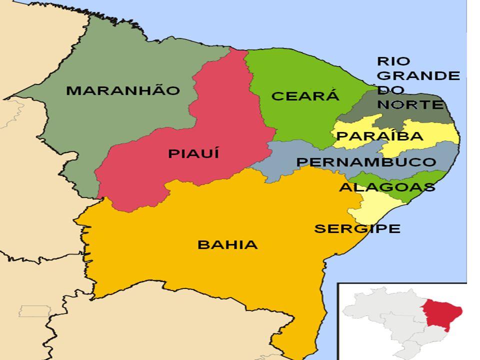 Nordeste: ocupação e organização do espaço O Nordeste é a região de ocupação mais antiga desde a chegada dos colonizadores, essa região teve seu espaço organizado, inicialmente em torno da atividade canavieira.