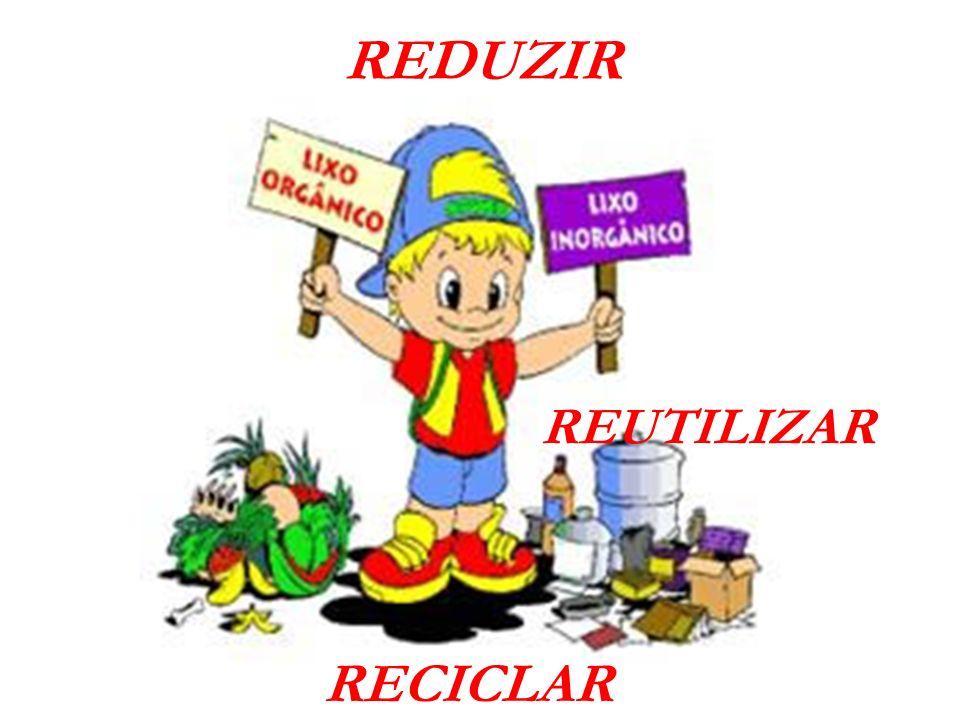 REUTILIZAR REDUZIR RECICLAR