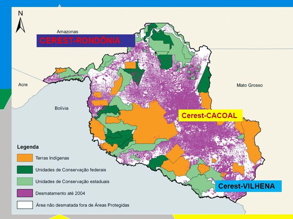 2009 CEREST-RONDÔNIA Cerest-CACOAL Cerest-VILHENA