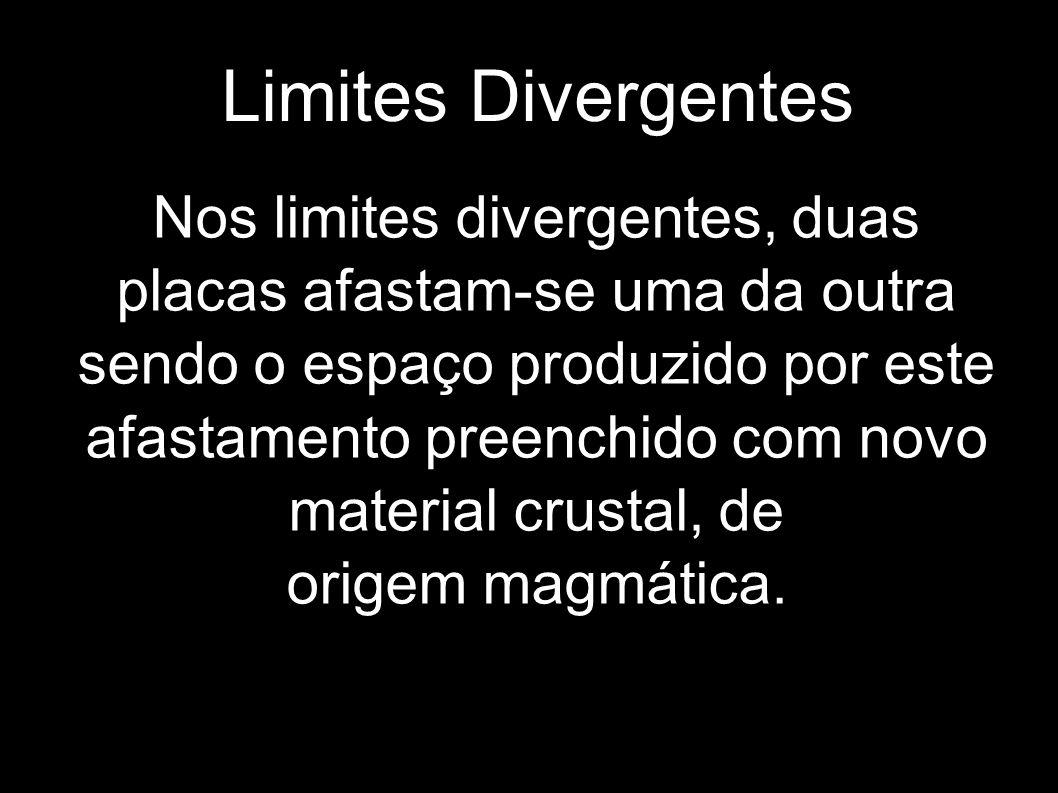 A origem de novos limites divergentes é por alguns associada com os chamados pontos quentes.