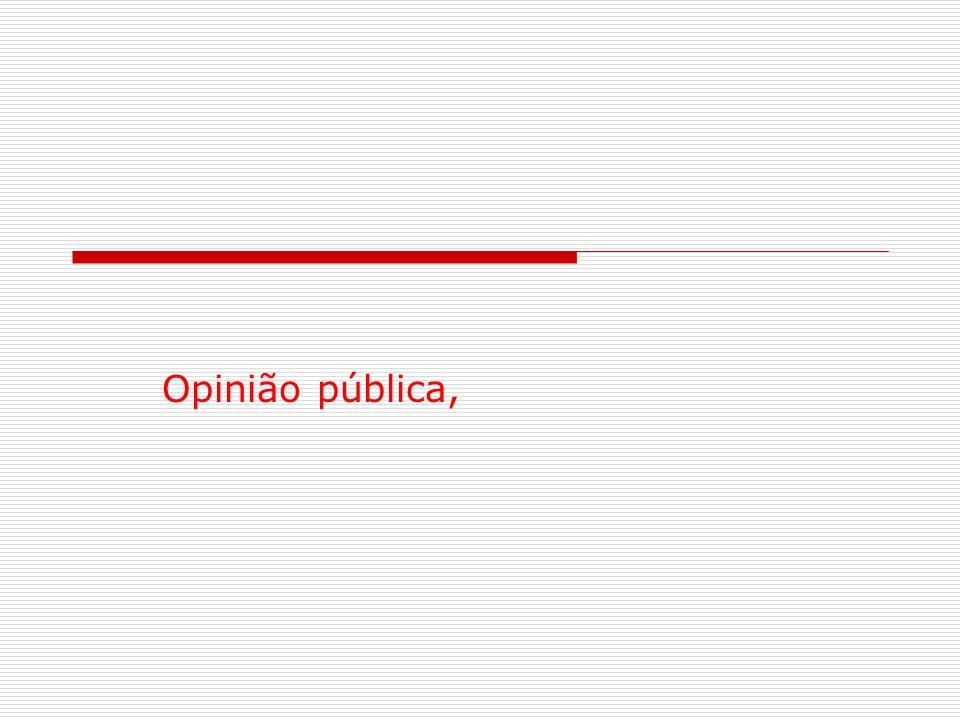 Opinião pública,