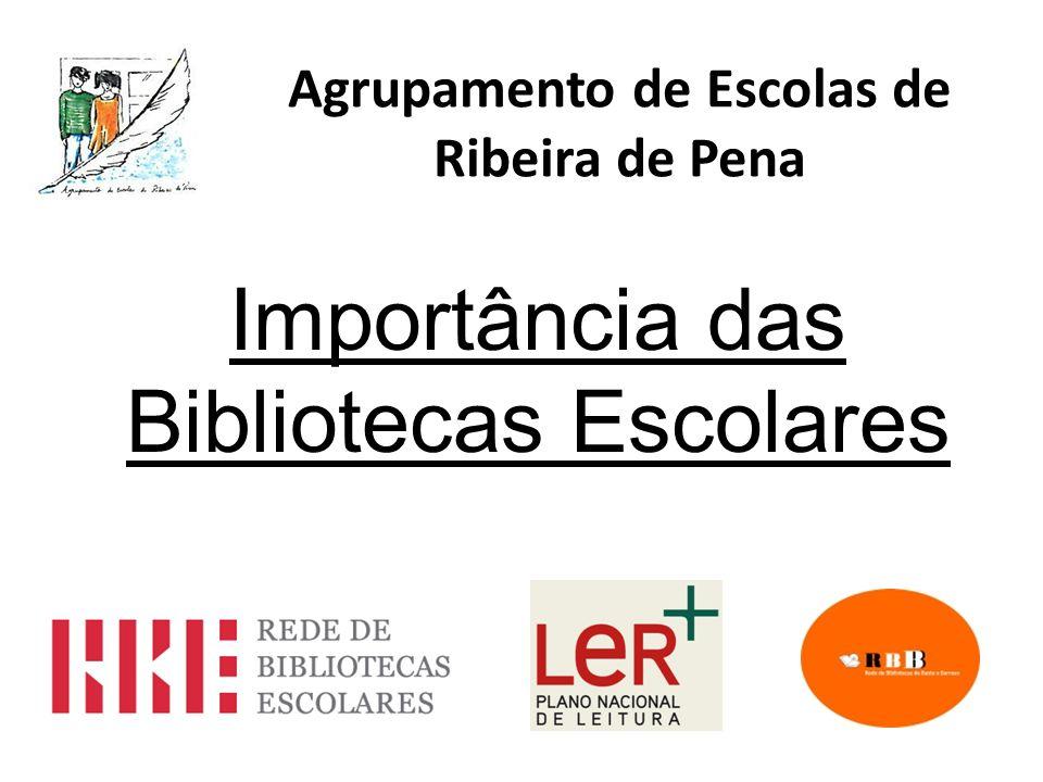 Agrupamento de Escolas de Ribeira de Pena Importância das Bibliotecas Escolares