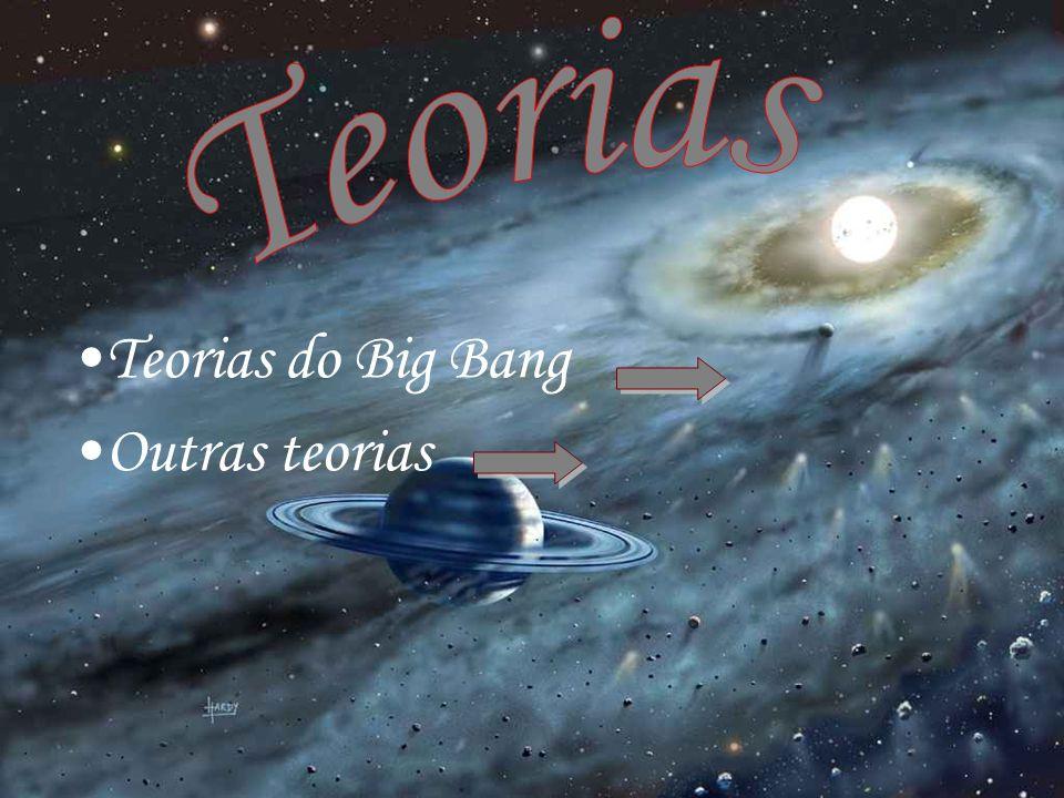 Teorias do Big Bang Outras teorias