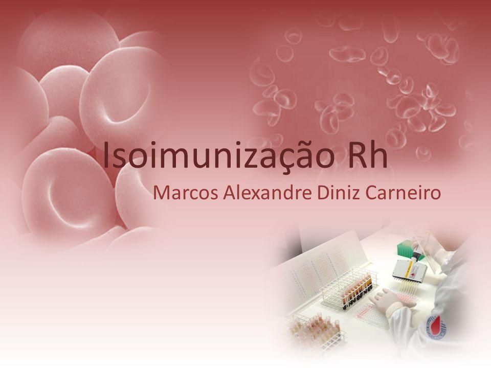 Isoimunização Rh Marcos Alexandre Diniz Carneiro