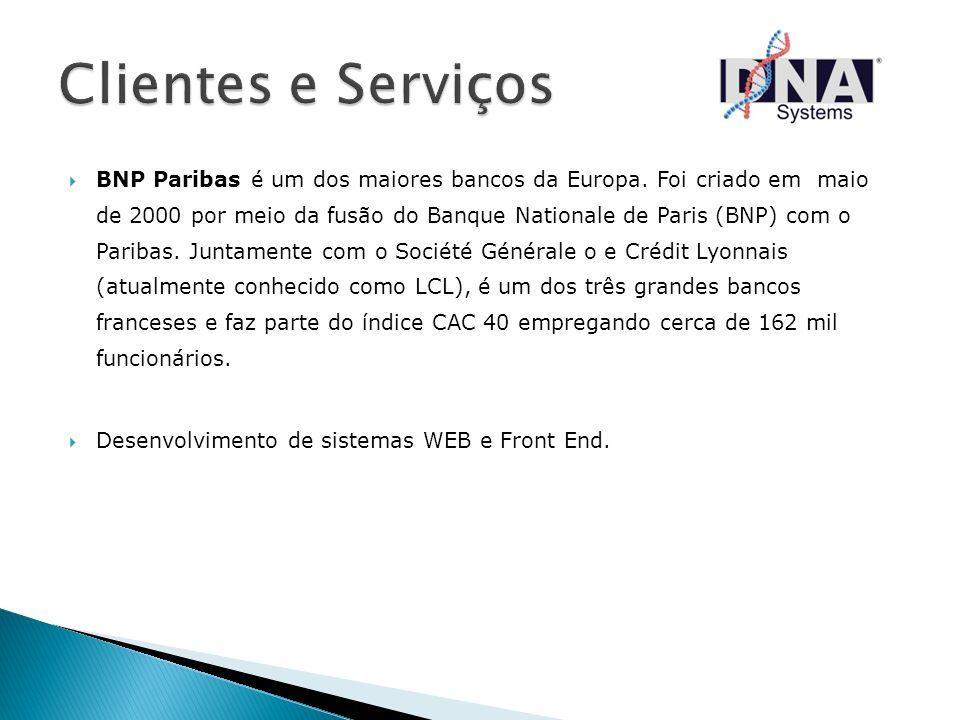 BNP Paribas é um dos maiores bancos da Europa. Foi criado em maio de 2000 por meio da fusão do Banque Nationale de Paris (BNP) com o Paribas. Juntamen
