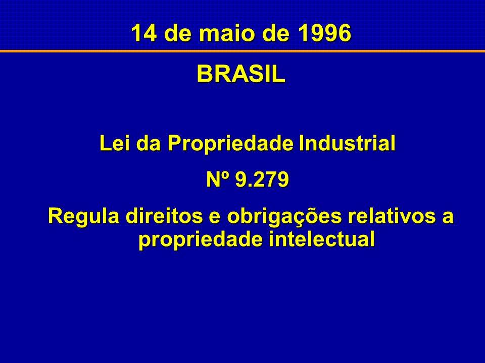 TRIPS/OMC 1994 – Promulgada a ata final da Rodada do Uruguai do Acordo GATT, do qual faz Uruguai do Acordo GATT, do qual faz parte o TRIPS - Acordo so