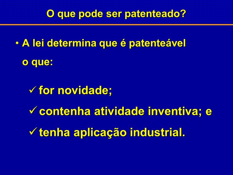 14 de maio de 1996 BRASIL Lei da Propriedade Industrial Nº 9.279 Regula direitos e obrigações relativos a propriedade intelectual Regula direitos e ob