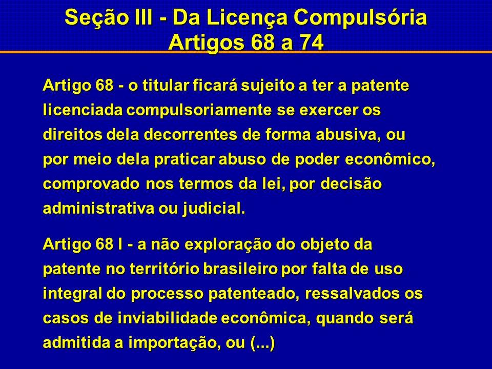 Lei nº 9.279 de 14/05/96 ARTIGO 18 – Não são patenteáveis: I.o que for contrário à moral, aos bons costumes e à segurança, à ordem e à saúde públicas.