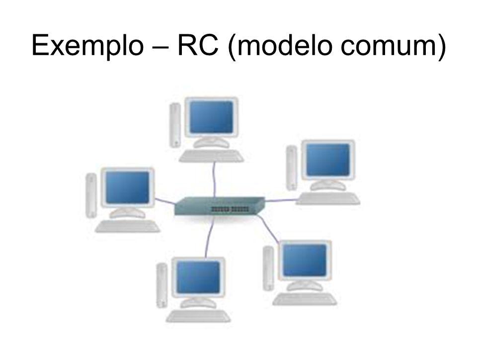 Exemplo – RC (modelo comum)