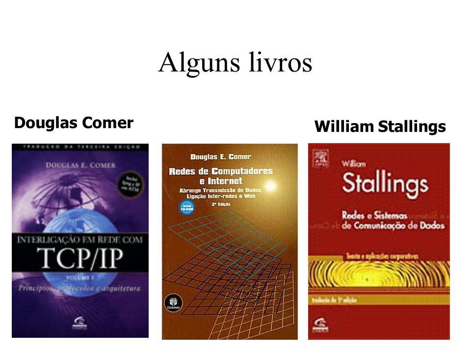 Douglas Comer William Stallings Alguns livros