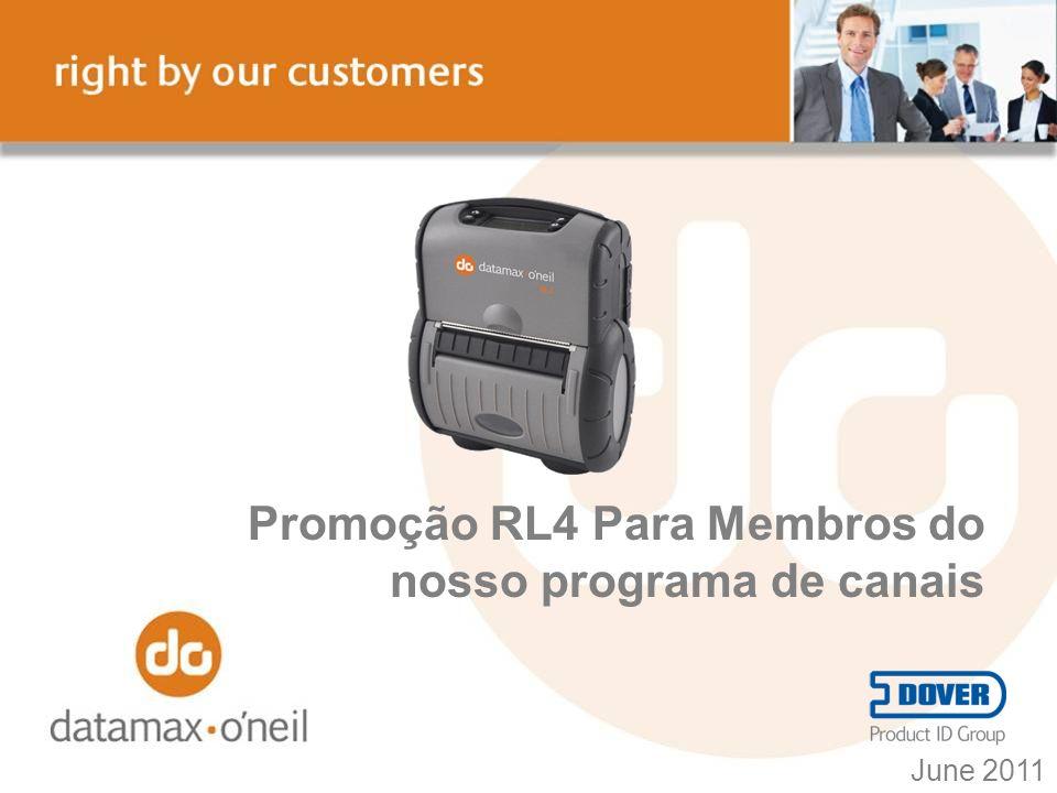 RL4 – Escolha Fácil A RL4 é a impressora mais facil de vender aos seus clientes.