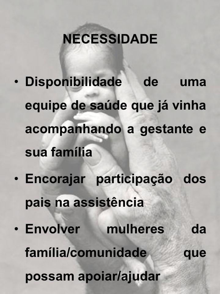 ATENDIMENTO DO RN DE RISCO PELA EQUIPE DO PSF OBJETIVOS: 1.