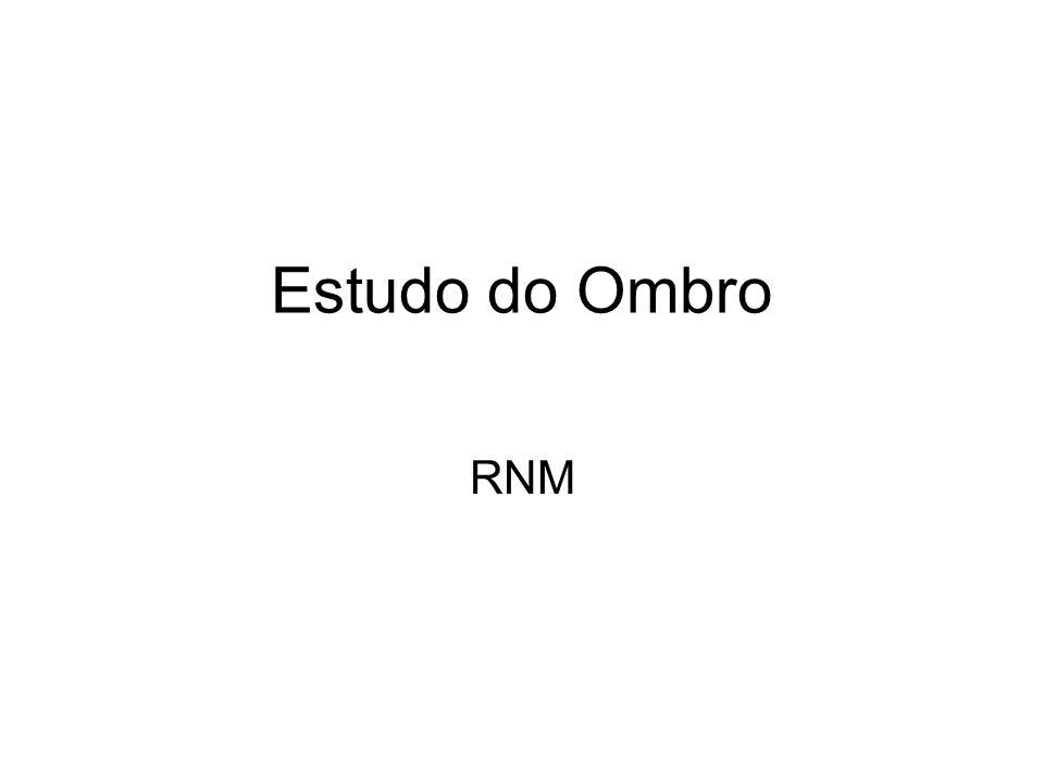 Estudo do Ombro RNM