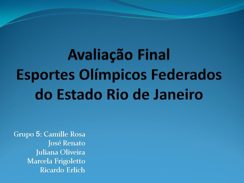Grupo 5 : Camille Rosa José Renato Juliana Oliveira Marcela Frigoletto Ricardo Erlich
