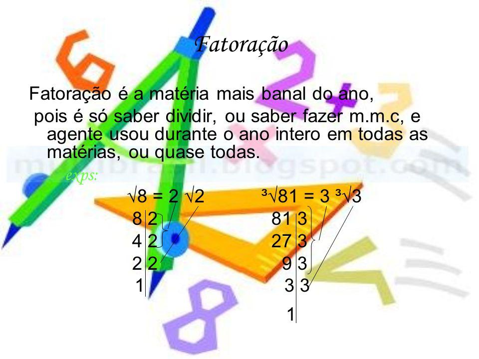 Na báskara também temos casos particulares são 3: O 1ºquando o resultado dentro da raiz é zero; O 2ºquando não tem como tirar a raiz; E o 3°caso quando o numero de dentro da raiz é negativo então não podemos tirar a raiz e a resposta é solução vazia.