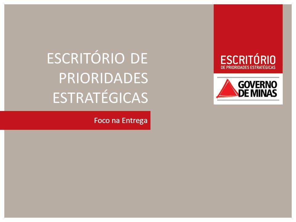 ESCRITÓRIO DE PRIORIDADES ESTRATÉGICAS Foco na Entrega