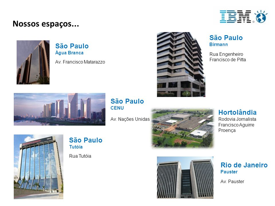 Por que fazer parte da IBM.