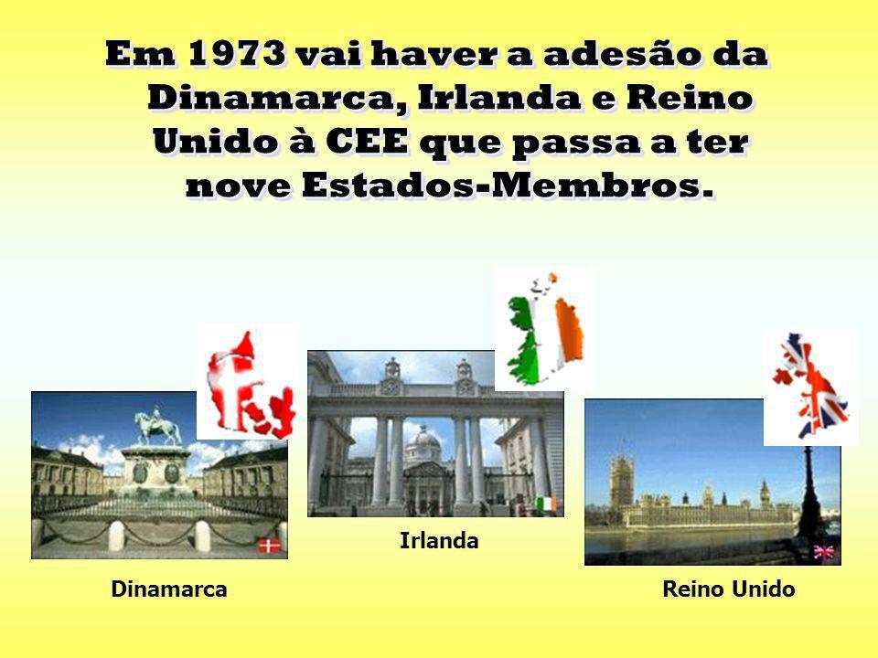 Em 1957 é assinado o Tratado de Roma que cria a Comunidade Económica Europeia (CEE). Em 1957 é assinado o Tratado de Roma que cria a Comunidade Económ
